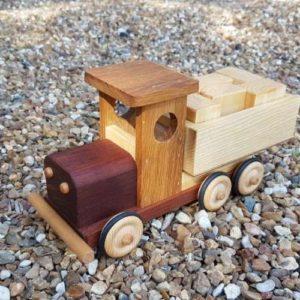 Camion ben en bois