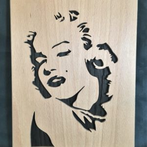 Portrait Marylin Monroe