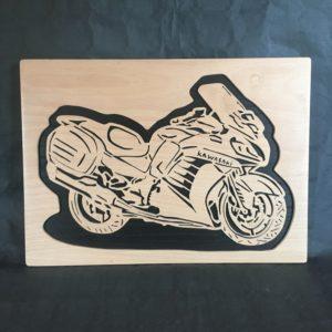 Décoration moto murale