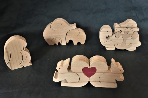 Petit Puzzle en bois