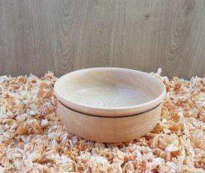 Plat artisanal en bois