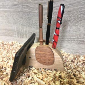 Porte crayon en bois