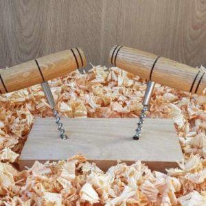 Tire bouchon en bois
