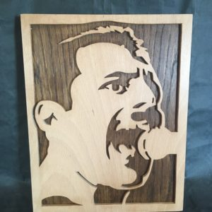 Portrait Freddie Mercury