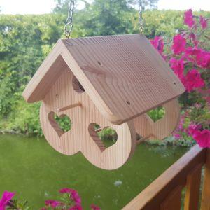 nichoir oiseaux en bois