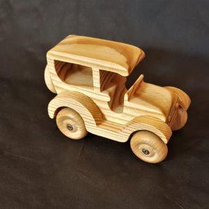 petite voiture française en bois