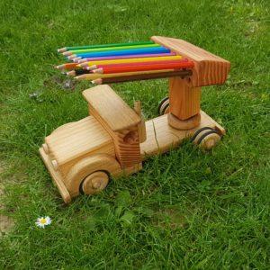 Porteur crayon en bois