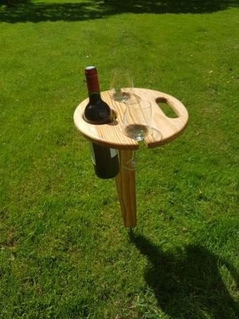 Table portable pour pic nic